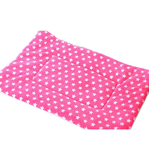 Wouke Pet Mat,Dog Cat Flannel Print Blanket Bed Soft Cushion Warm Pad Bed Washable ()