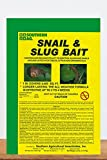 Southern Ag Snail & Slug Bait (Use on Fruit trees, berries, vegetable, ornamentals, lawn, greenhouse), 2.5 LB
