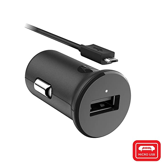 Motorola TurboPower 15 QC2 0 USB-A car charger with SKN6461A micro-USB  cable for Moto G5 Plus/G5S/G5S Plus/G6 Play [NOT G6 or G6 Plus] micro usb