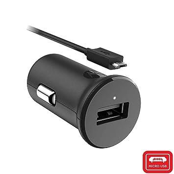 Motorola TurboPower 15 - Cargador de Coche USB-A con Cable Micro-USB (para G3/G4/G4 Plus/G5 Plus/G5S/G5S Plus)