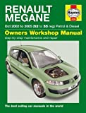 Renault Megane Petrol & Diesel (Oct 02 - 08) Haynes Repair Manual (Haynes Service and Repair Manuals) by Anon (2014-11-04)