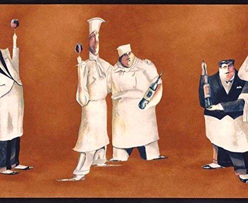italian chef wallpaper border - 3