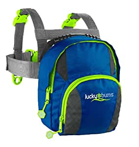 Lucky Bums Durable Youth Kids Fall Line Ski Trainer Harness, Blue