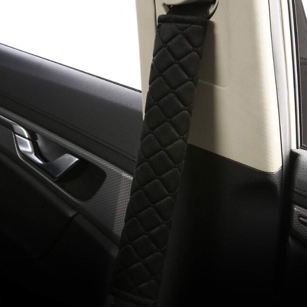 6.6 cm 27 Scelet Morbido Confortevole copricintura Universale Cintura di Sicurezza Tracolla coperture Auto Belt Protector Purple
