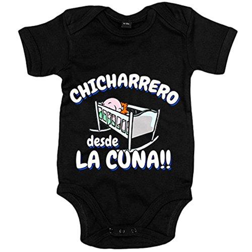 Body bebé Chicharrero desde la cuna Tenerife fútbol - Azul Royal, 6-12 meses: Amazon.es: Bebé