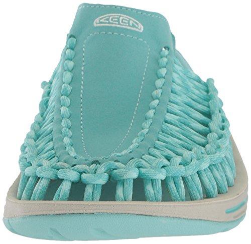 Fike Vrouwen Uneek Slide-w Sandaal Aqua Zee / Pastel Turquoise
