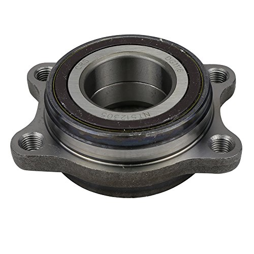 CRS NT512305 New Wheel Bearing Hub Assembly, Front/Rear Side, for Audi S8 2001-03/ S6 2002-04/ S4 2002-09/ RS6 2003-04/ A8L 2000-03/ A8 QUATTRO 1999-03/ A6 (QUATTRO) 2000-04/ A4 (QUATTRO)/ RS4