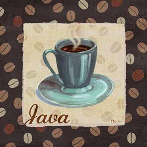 Cup of Joe IV Poster Print by Paul Brent (12 x 12)