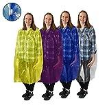 ALL NEW! Disposable Emergency Rain Ponchos