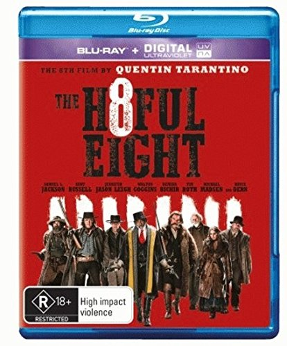The Hateful Eight [Blu-ray/UV] [NON-USA Format, Region B [Blu-Ray] Import - Australia]