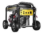 5000 Watt Portable Generator - Briggs & Stratton 30554, 5000 Running Watts/6250 Starting Watts, Gas Powered Portable Generator