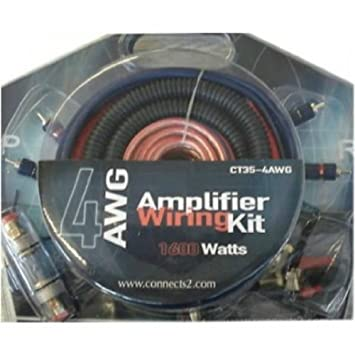 Kit Kabel RCA 4 AWG + Stromversorgung: Amazon.de: Elektronik