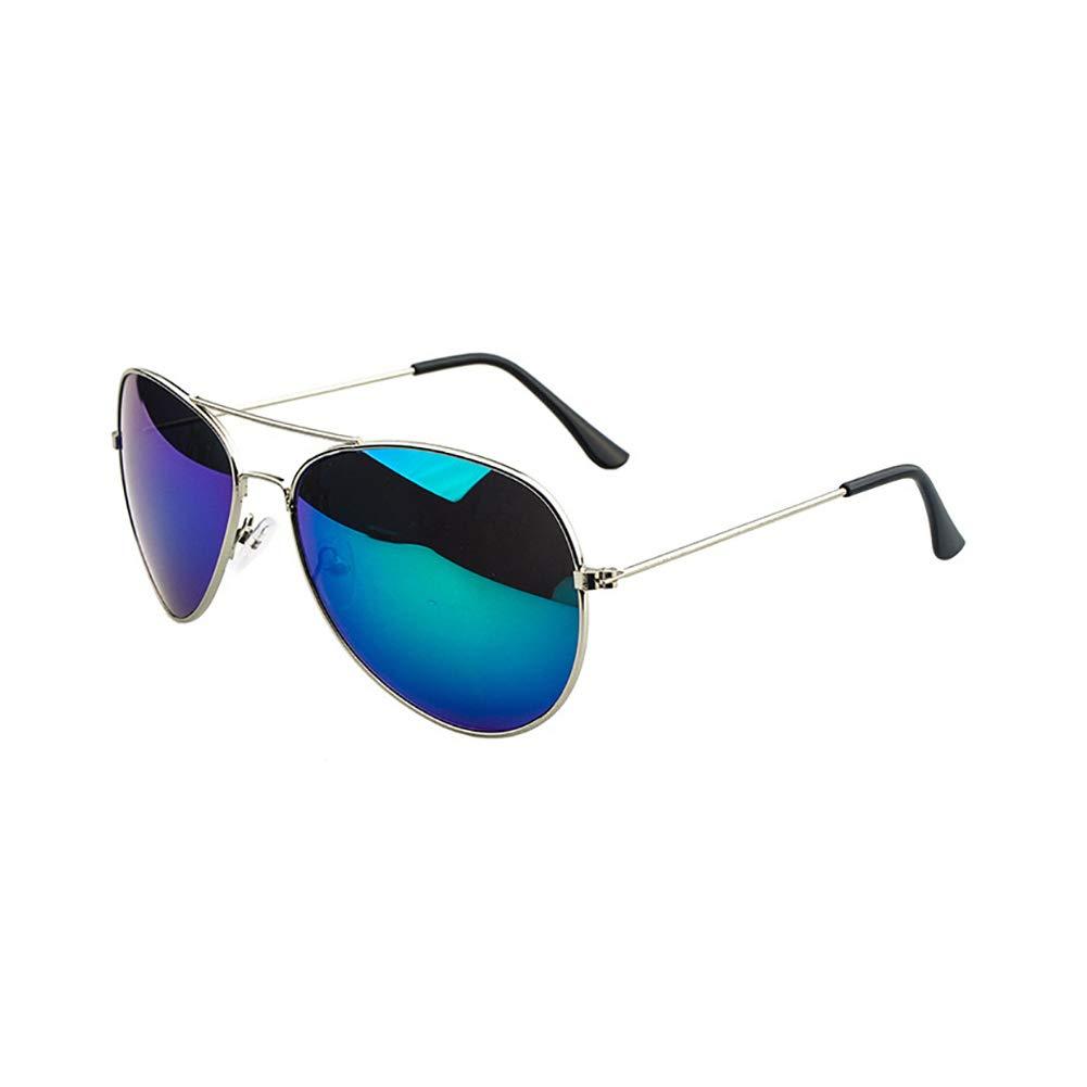 Kosaire Fashion Classic Aviator Sunglasses Women And Men Metal Frame