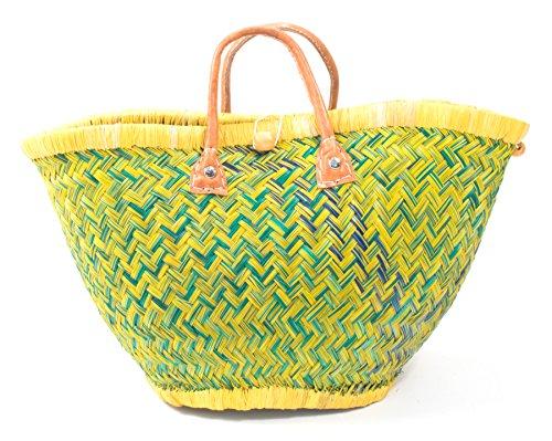 Pesce Nel Mare Borsa Quattro Designer Borsa Da Spiaggia Borsa Da Spiaggia S ★ M ★ L Borsa A Mano Donna Ibiza Maniglie Lime