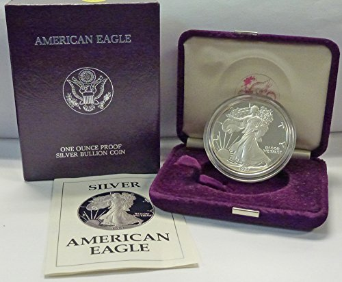 1987 S American 1 oz. Silver Eagle Dollar Proof US Mint