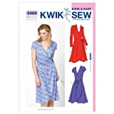 Kwik Sew K3489 Dresses Sewing Pattern, Size XS-S-M-L-XL by KWIK-SEW PATTERNS