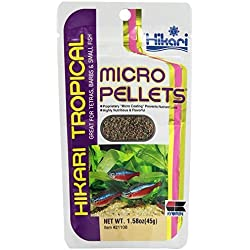 Hikari Usa Inc AHK21108 tropical Micropellets 1.58-Ounce 2-Pack