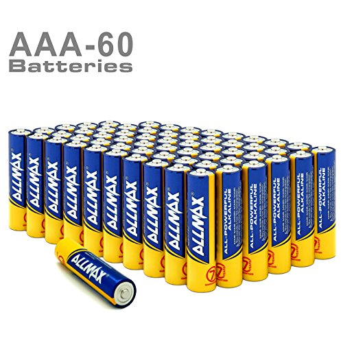 Heavy Duty Aaa Cell - Allmax All-powerful Alkaline Batteries-size AAA, 1.5V dry cell (60-Pack), Corrugated Cardboard Boxes Storage Packaging