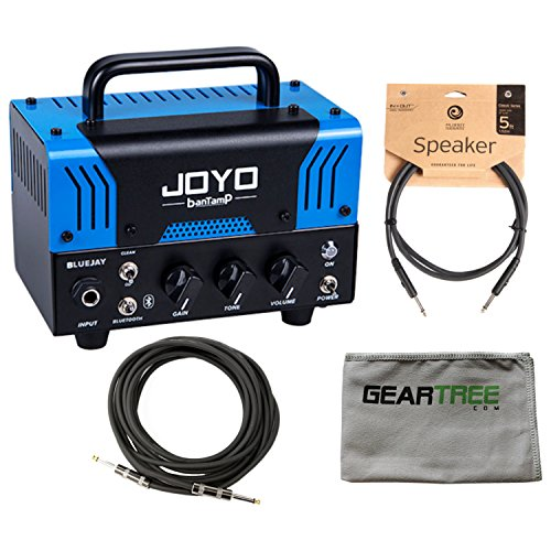 Joyo BanTamp Blue Jay Blues Overdrive 20W Tube Amp Head w/ Cloth and 2 Cables by Joyo