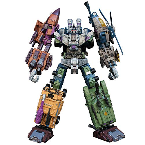 5 in 1 Transformation Bruticus Warbotron Decepticons Figure Oversized KO Toys