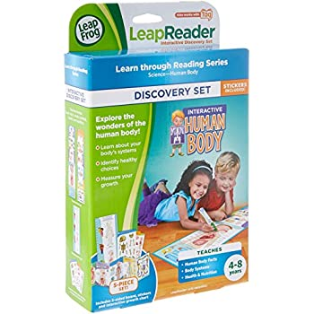 Amazon leapfrog leapreader interactive human body discovery set leapfrog leapreader interactive human body discovery set works with tag gumiabroncs Choice Image