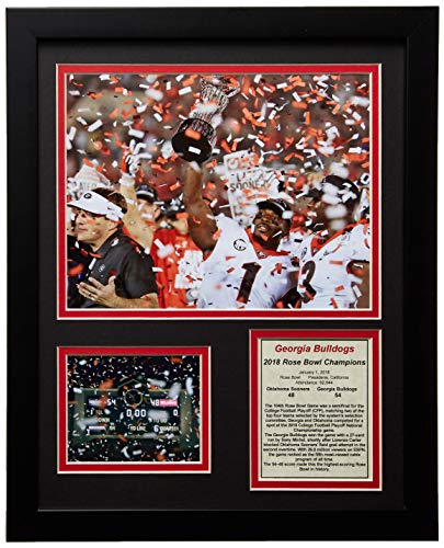 University of Georgia Bulldogs - 2018 Rose Bowl Champions - Framed 12