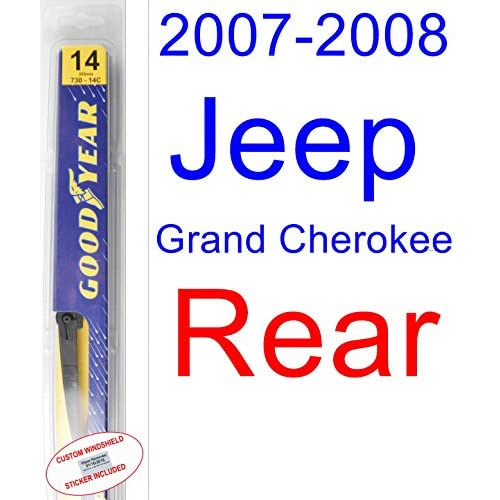 Hot 2007-2008 Jeep Grand Cherokee Laredo Wiper Blade (Rear) (Goodyear Wiper Blades-Assurance) hot sale
