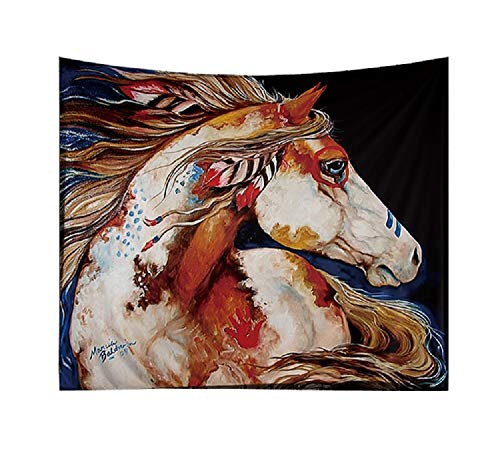Izielad Animal Horse Wall Hanging Tapestry