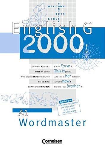 English G 2000, Ausgabe A, Wordmaster