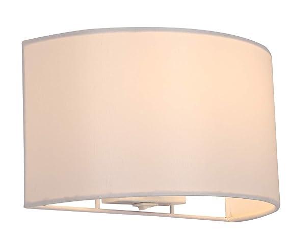 Harper living lampada da parete con interruttore paralume in