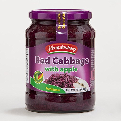 Hengstenberg Red Cabbage with Apples 24 oz (Pack of 3)