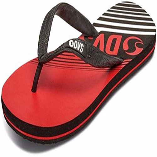 DVS Men's Marbella Red Black Eva Rubber Sandals DVF0000254-601 (Devious Footwear)
