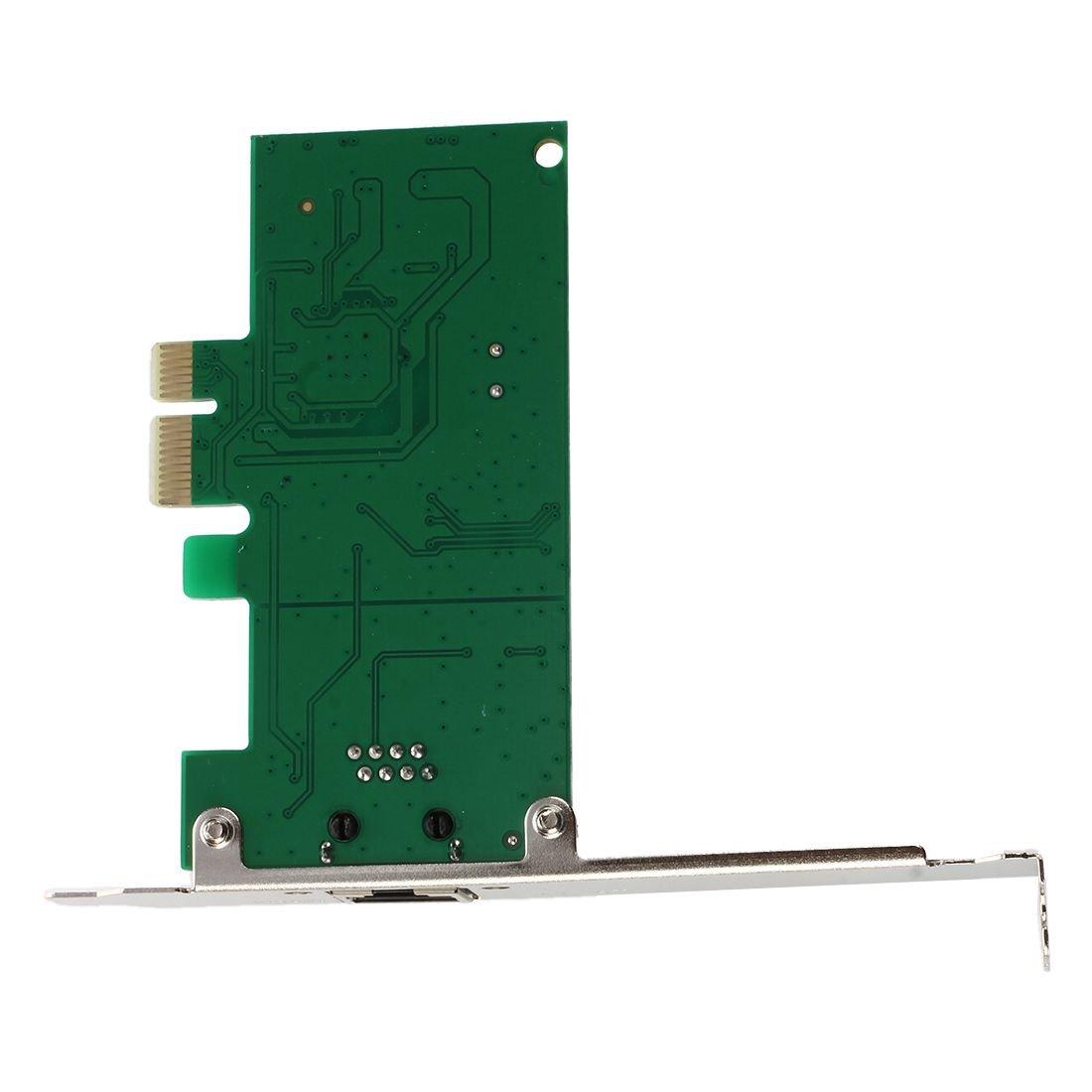 SODIAL PCI-E Express 10/100/1000m Gigabit Ethernet LAN: Amazon.de ...