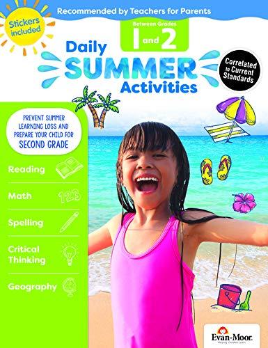 Evan-Moor Daily Summer Activities, Between 1st Grade and 2nd Grade Activity Book; Summer Learning Workbook ()