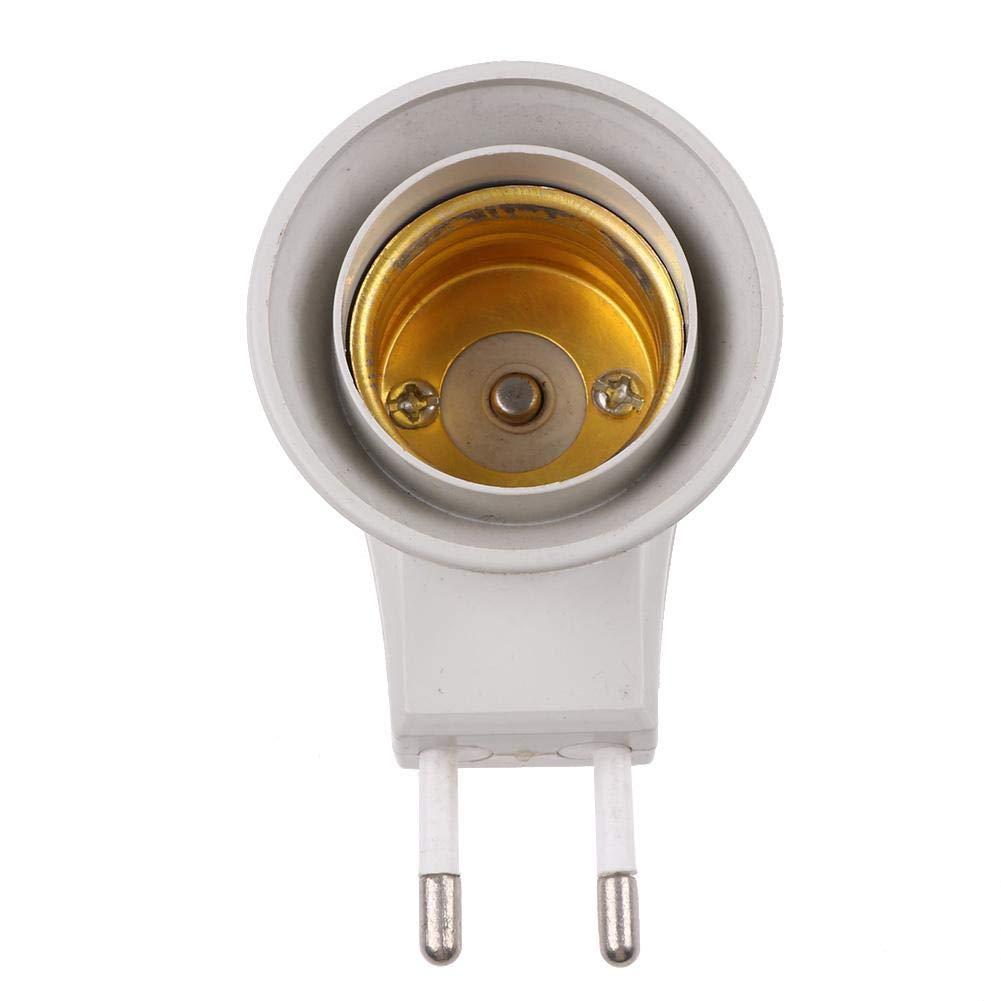Domybest Douille Ampoule /à Vis E27 Base Support de Fixation Adaptateur Ampoule LED Adaptateur de Prise de Lampe avec Interrupteur