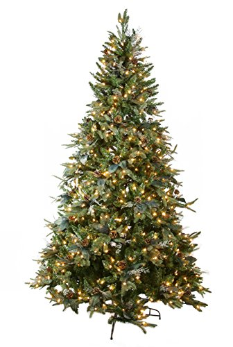 GKI Bethlehem Lighting Pre Lit PE PVC Christmas Tree With 400 Import It All