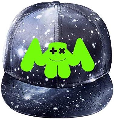 マシュメロ コスプレ 夜光 ハット marshmello 野球帽子 キャップ ヒップホップ DJ グッズ キャンパス 男女通用