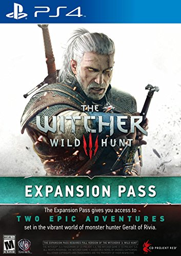 The Witcher 3 : Wild Hunt - Expansion Pass - PlayStation 4 [Digital Code]