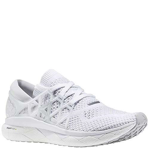 ff92722f73ea Reebok Men s Floatride Run ULTK White Steel Coal 8.5 D US D (M