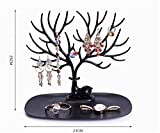 aooyaoo Tree Stand Jewelry Display Necklace Earring