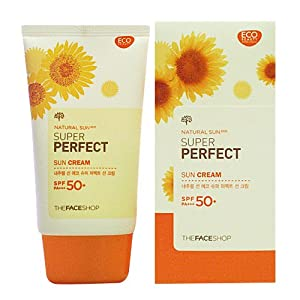 The Face Shop Super Perfect Sun Cream Spf50+/pa+++ Sunscreen 50ml