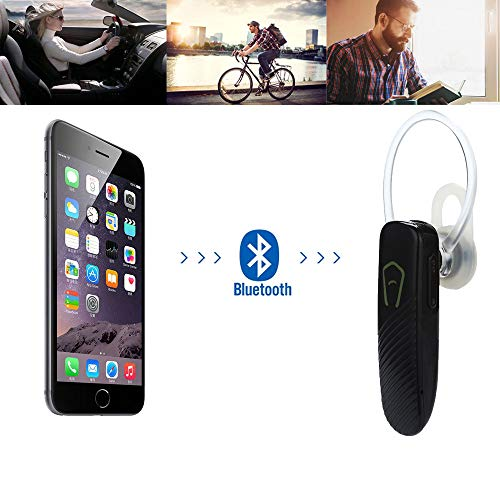 Earphone, Bluetooth Wireless Headset Earbud Headphone Earphone with Mic for -