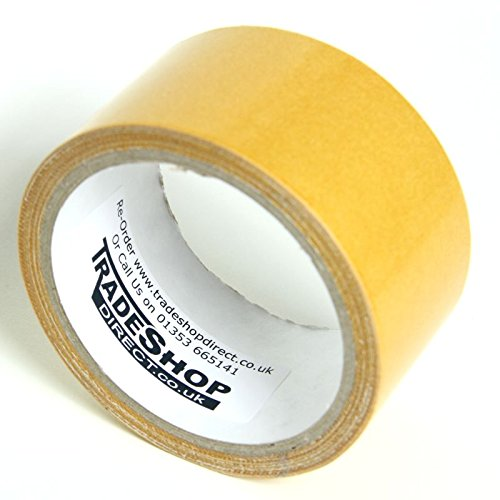 48mm x 5m Rug Gripper Heavy Duty Double Sided Self Adhesive Carpet Fitted Tape Trade Shop Direct