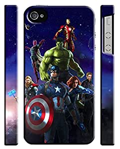 BESTER Avengers Age Of Ultron Iphone 4s Hard Case Cover