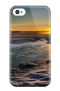 Nafeesa J. Hopkins's Shop TashaEliseSawyer Perfect Tpu Case For Iphone 4/4s/ Anti-scratch Protector Case (sunset)