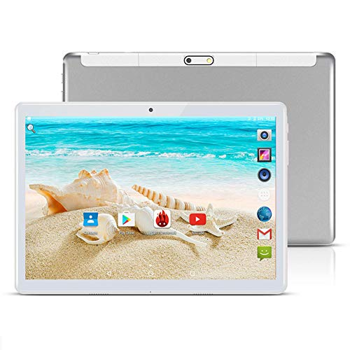 TAOERA 10 inch Android 8.1 Tablet Unlocked Pad with Dual SIM Card Slot 2.5D Curved Glass Touch Screen 4GB RAM 64GB ROM…