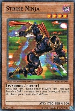 Amazon.com: Yu-Gi-Oh. – Strike Ninja (batt-en003) – Battle ...