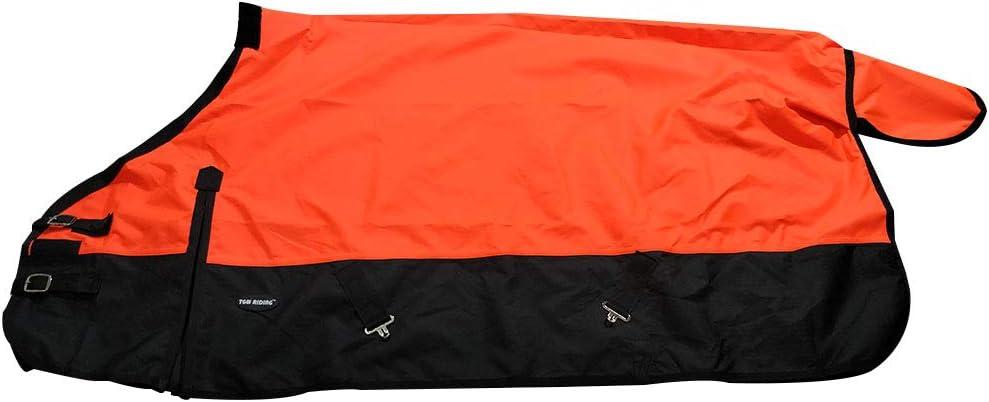 TGW RIDING 1200Denier Waterproof and Breathable Horse Sheet Horse Blanket Standard Neck Turnout Sheet