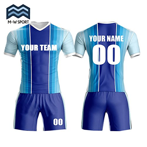 dbb8e3607a7 M-W Sports Breathable Quick Dry Fabric Sportwear Soccer Jerseys For Team  Custom Your Logo