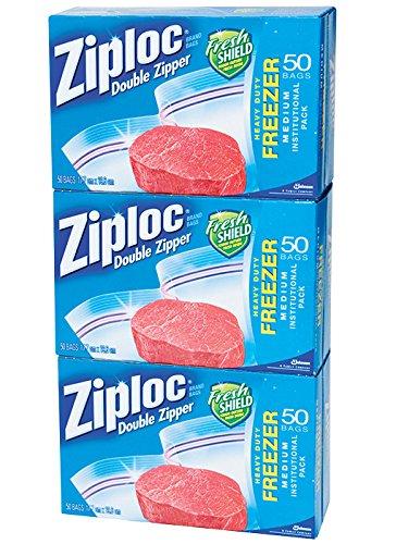 Quart Freezer Bags (Quart 150 count) (Quart Clear Fruit)